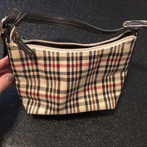 Liz Claiborne mini plaid bag